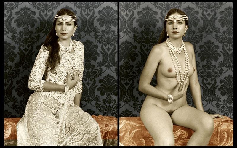 Michael Berkowitz, akt kobiecy i portret